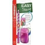 STABILO Bleistift EASYgraph Start Set Rechtshänder pink 3-tlg.