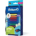Pelikan griffix Kreativ-Etage Wachsmalstifte für Kreativfabrik 9-tlg.