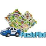 Amewi Puzzle Pilot Polizei mit Strecke zum Puzzlen