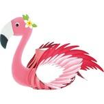 URSUS Laternen-Bastelset Flamingo