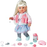 Zapf Creation Exklusiv BABY born Soft Touch Sister blond 43 cm SPECIAL