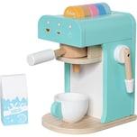 MyToys Holz Kaffeemaschine mint 10-teilig