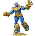 Hasbro Marvel Avengers Bend And Flex Action-Figur 15 cm große biegbare Thanos Figur enthält ein Effe