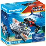 Playmobil 70145 Seenot: Tauchscooter im Rettungseinsatz