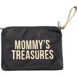 Childhome Handtasche Mommy Clutch schwarzgold