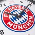 FC Bayern München Wanduhr FC Bayern Logo