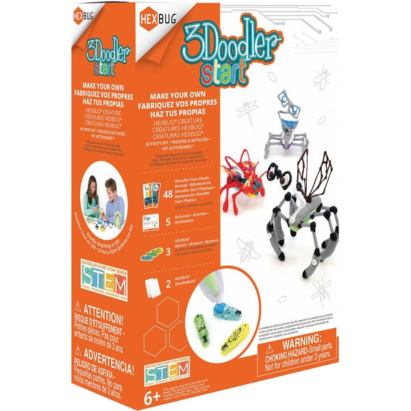 3Doodler Start Robotic Creature Activity Kit Hexbug