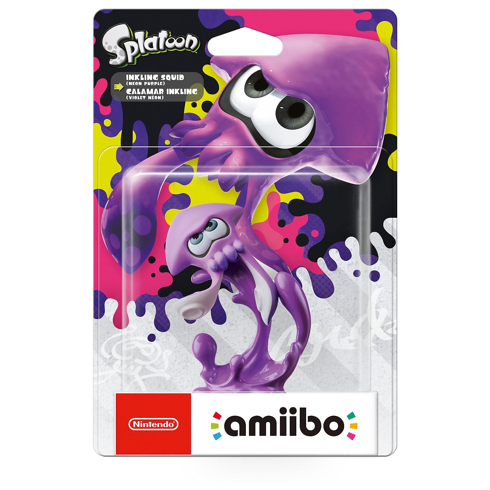 Nintendo amiibo Splatoon Tintenfisch Neon-Lila