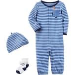 carter`s Baby Set Overall Mütze Socken für Jungen