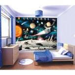 Walltastic Tapete Weltraum 12 tlg.