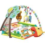 Kids II Bright Starts Winnie Puuh Spieldecke mit Spielbogen