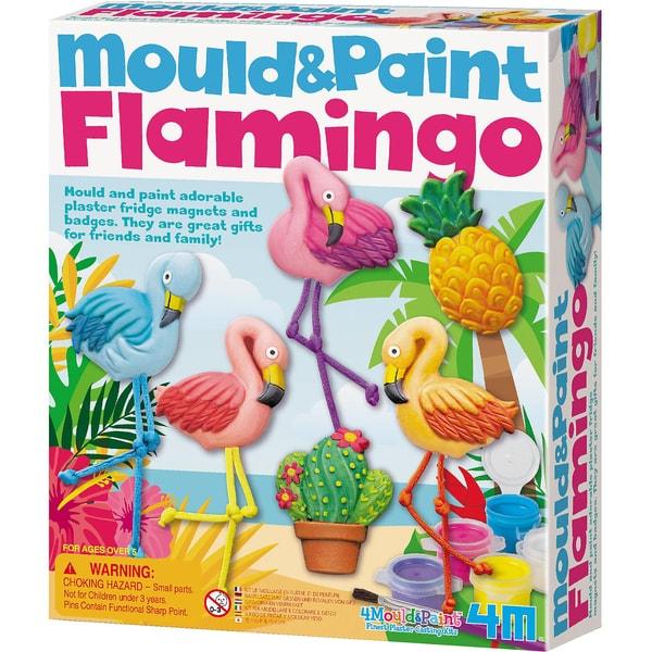 4M Mould Paint Flamingos