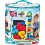 Mattel Mega Bloks First Builders Bausteinebeutel groß 80 Teile