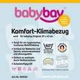 Tobi Klima-Bezug für babybay original 81 x 43 cm