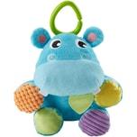 Mattel Fisher-Price Versteck-mich Plüsch-Nilpferd Baby-Spielzeug Kuscheltier Baby Ball