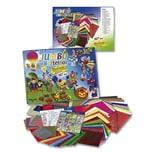 folia 50915/1 Bastelsets Jumbo Bastelbox, mehrfarbig, 107-teilig (1 Set)
