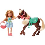 Mattel Barbie Chelsea Puppe Pony blond