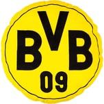 Borussia Dortmund Kissen Bvb Rund Gelb 42 cm