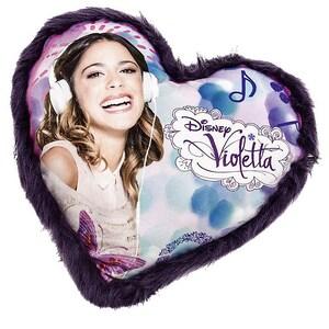 JOY TOY Herzkissen Violetta