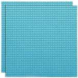 Basisplatte 32x32 Himmel Blau Zweierpack