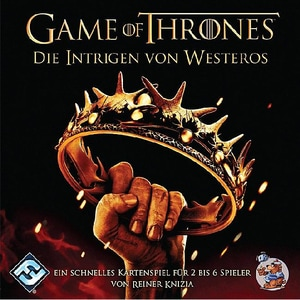 Asmodee Game Of Thrones Die Intrigen Von Westeros Kartenspiel
