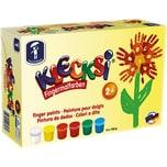 Feuchtmann KLECKSi Basic Maxi Fingermalfarbe 6 x 150 g