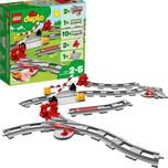 Lego 10882 Duplo Eisenbahn Schienen
