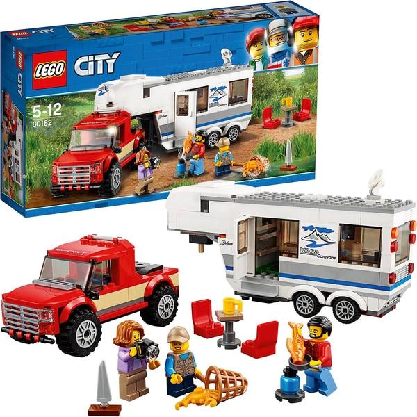 LEGO City 60182 Pickup Wohnwagen