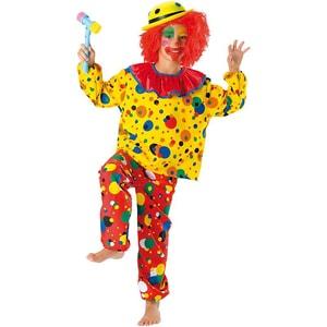 Kunterbunt Kostüm Clown Jupp 2-tlg.