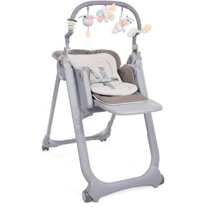 Chicco Hochstuhl Polly Magic Relax Mit 4 Rollen Cocoa