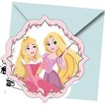Procos Einladungskarten Disney Princess Dareto dream 6 Stück inkl. Umschläge