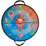 Scratch Magnetische Zielscheibe Weltall
