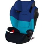 Cybex Auto-Kindersitz Solution M-Fix SL Silver-Line Blue Moon-Navy Blue