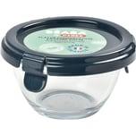 Béaba Pyrex Portionsbehälter aus Glas - Dunkelblau