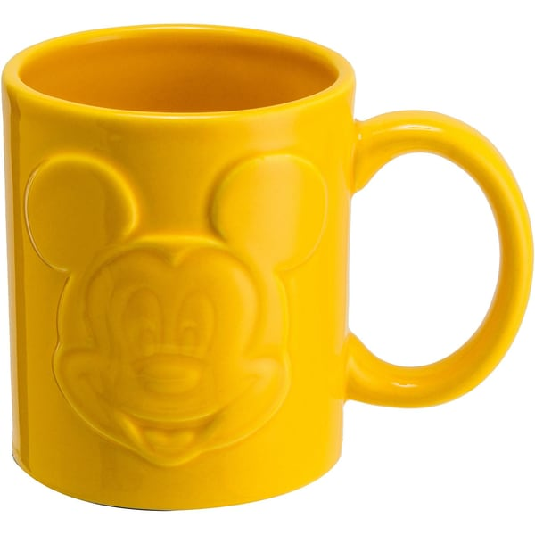 Joy Toy Mickey Mouse Relieftasse Gelb