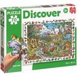 Jumbo Discover-Puzzle 70 Teile Safari