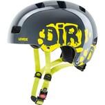 uvex Fahrradhelm Kid3 dirtbike grey-lime 51-55