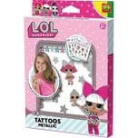 SES Creative L.O.L. Metallische Tattoos