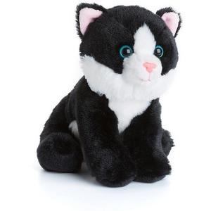 Anna Club Plüsch Katze 15cm schwarz