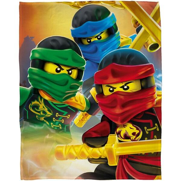 Character World Kuscheldecke LEGO Ninjago 120 x 150 cm