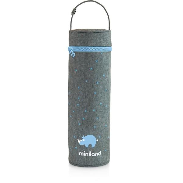 Miniland Flaschen-Isoliertasche Silky 500 ml azurblau