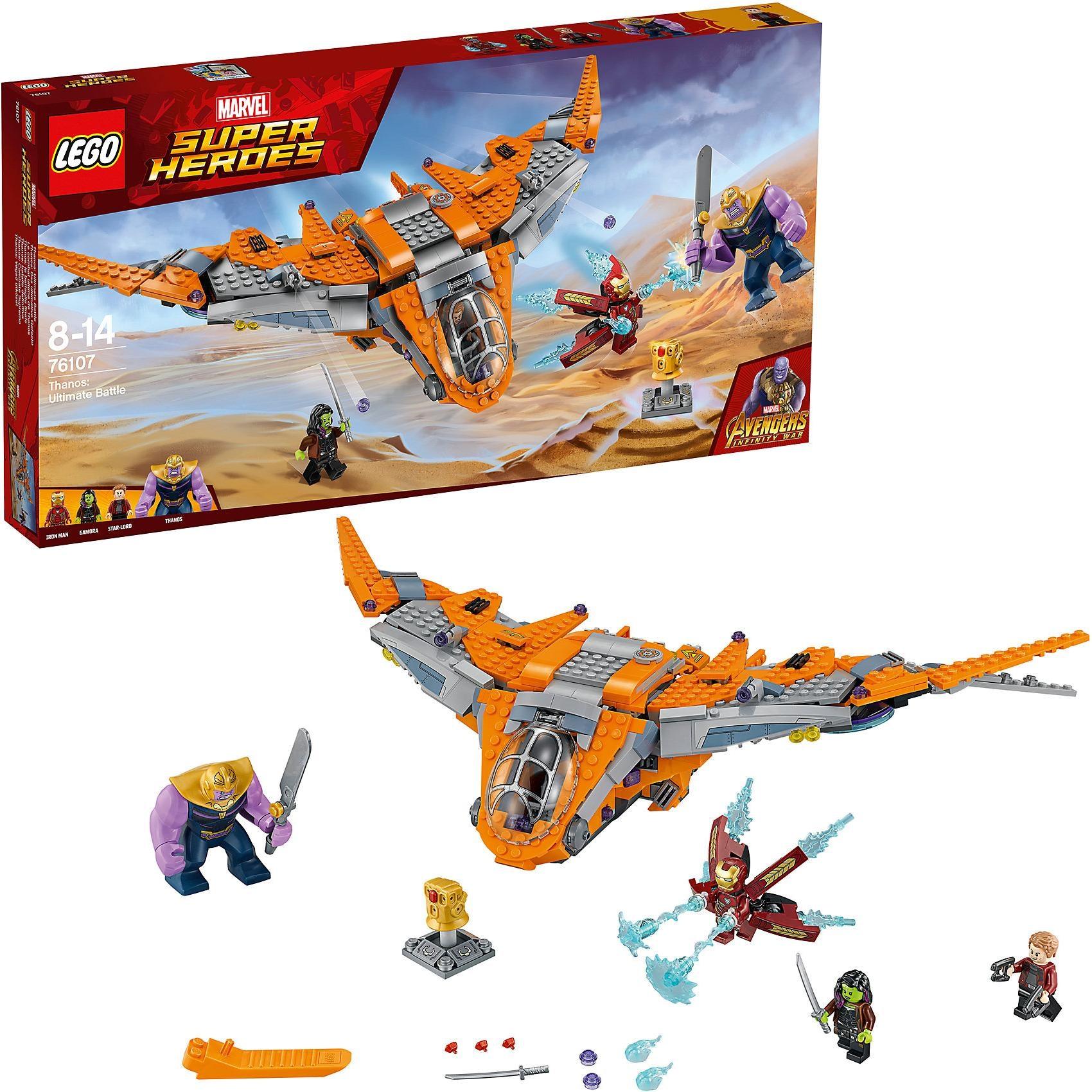 Lego Super Heroes 76107 Thanos Das ultimative Gefecht