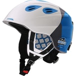 Alpina Skihelm Grap 2.0 Jr.white-silver-blue
