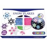 Playbox Bügelperlen-Set Schneesterne 4.000 Perlen