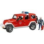 Bruder 02528 Jeep Wrangler Feuerwehr Einsatzfahrzeug