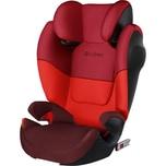 Cybex Auto-Kindersitz Solution M-Fix SL Silver-Line Rumba Red-Dark Red