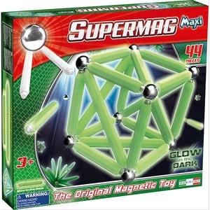Supermag Supermag 44 Teile glow in the dark