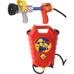 Simba Feuerwehrmann Sam Tankrucksack mit Löschpistole