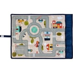 ACHOKA® Spielteppich für unterwegs Travel Play - Motiv Stadt