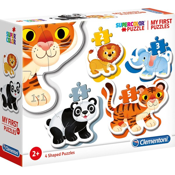 Clementoni My Frist Puzzles 2345 Teile Wildtiere